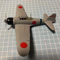ハセガワ  1/72 三菱零式艦上戦闘機一一型(7)の記事に添付されている画像