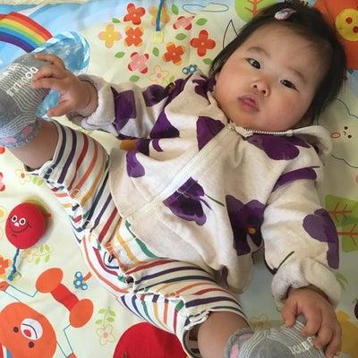 託児の様子♡6ヶ月の女の子と2歳9ヶ月の男の子♡の記事に添付されている画像