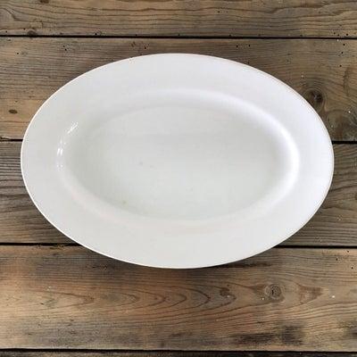 アンティーク、オーバル皿。の記事に添付されている画像