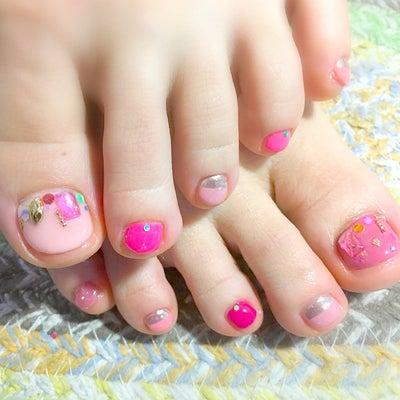 foot☆女性ホルモン活性化ネイルの記事に添付されている画像