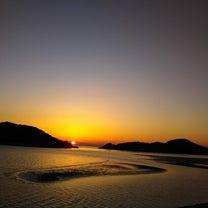 夕日です、の記事に添付されている画像