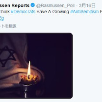 この調査会社は要ウォッチです、Rasmussen Reports ラスムッセン の記事に添付されている画像
