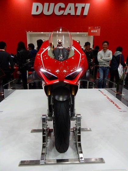 東京モーターサイクルショーの記事より