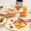 朝食はエッグベネディクト♡『サー ウィンストンホテル 名古屋 by ストリングス』の画像