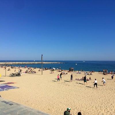 バルセロナは海が近くて最高!の記事に添付されている画像
