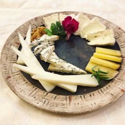 週末のチーズプラトーの記事に添付されている画像