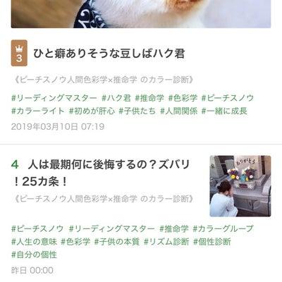 ブログ記事が3位4位5位にランクイン!!の記事に添付されている画像