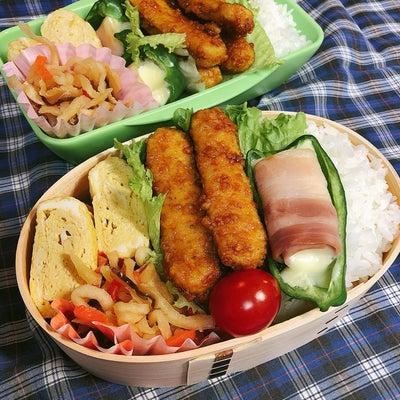 今日のお弁当*new曲げわっぱ♡の記事に添付されている画像