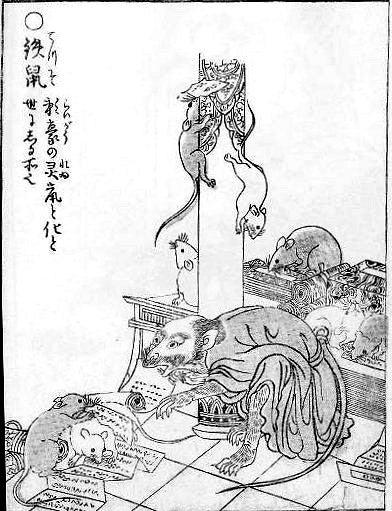 伊豆高原「怪しい少年少女博物館」のブログ妖怪 鉄鼠(てっそ)をご存知ですか?