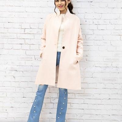♡麻スリットコート♡の記事に添付されている画像