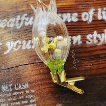 ガラス雑貨小花アレンジの記事に添付されている画像