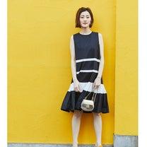 ♡裾プリーツが可愛いモノトーンワンピ♡の記事に添付されている画像