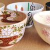 桜の茶碗と人生との画像