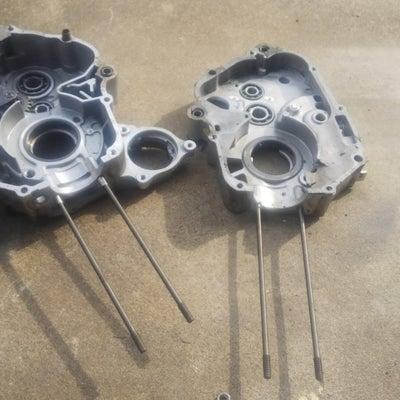 スーパーカブ 117cc 中華ロングスタッドボルト 流行ワザの記事に添付されている画像