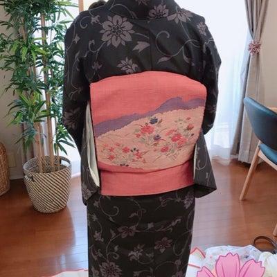 【レッスン風景】360°どこから見てもお美しい着物姿でした!の記事に添付されている画像