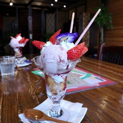 Honobonoかふぇさんのパフェ&ハートの根付♡の記事に添付されている画像
