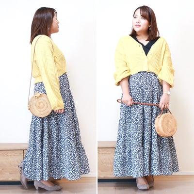【GU】絶対買うべき!!!可愛すぎる新作スカートでコーデ♪の記事に添付されている画像