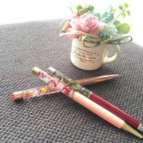 ハーバリウムペンは、人気です✨つくるつながるマルシェの記事に添付されている画像