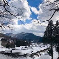雪の大内宿 & 塔のへつりの記事に添付されている画像