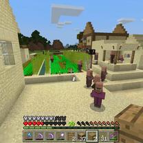 【Minecraft #65】ゆっくりマイクラ ようやく屋根ができました。の記事に添付されている画像