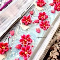 桜舞う空をイメージしたWカレンデュラ石鹸の記事に添付されている画像
