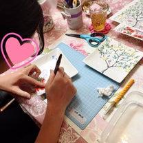♡3/25レッスン♡体験レッスンで華やかなスクエアプレートの記事に添付されている画像