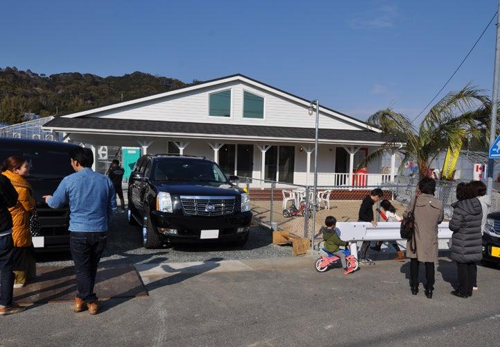 3月23-24日 輸入住宅完成見学会 in蒲郡の記事より