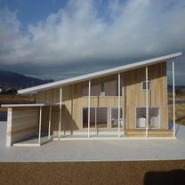 南松原の住宅 イメージ模型の記事に添付されている画像