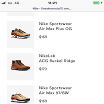 Sneakersnstuffで10%OFF実施中!の記事に添付されている画像