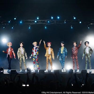 #BTSxMattel fashion dolls♡ついに完成♡の記事に添付されている画像