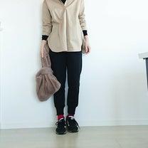 【UNIQLO×GU】大人っぽく着れるベージュシャツの記事に添付されている画像