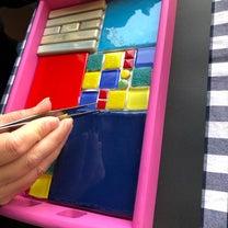 チェルシーモザイクタイル教室の記事に添付されている画像