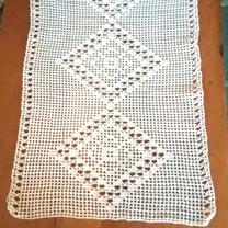 スキマ時間に編み物〜レース編みのテーブルセンターの記事に添付されている画像
