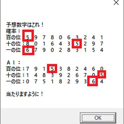 第5142回ナンバーズ3予想の参考情報の記事に添付されている画像