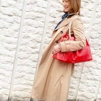 アクセントカラーはレッド!バッグもファッションの一部!の記事に添付されている画像