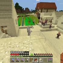 【Minecraft #66】ゆっくりマイクラ 屋根を作るのが難しい。の記事に添付されている画像