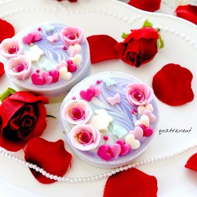 ハートいっぱい!アルガン真珠石鹸*ଘ( ॢᵕ꒶̮ᵕ(꒡ᵋ ꒡ღ)の記事に添付されている画像