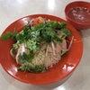 五反田のMR.CHICKEN鶏飯店でシンガポールチキンライスホワイトパクチー大盛の画像