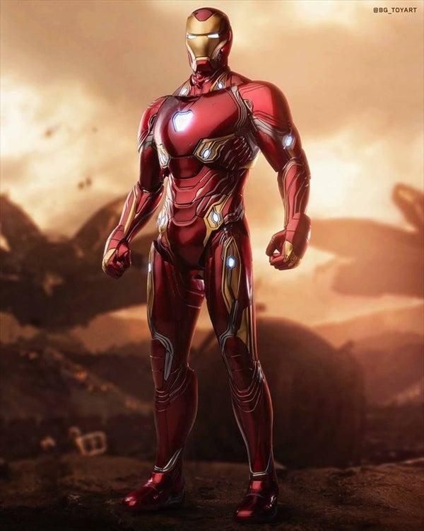 ホットトイズ アイアンマン マーク50 最新サンプル画像 アベンジャーズ インフニティウォー