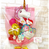 .バルーンバンチ花束タイプ.子供〜大人まで人気のユニコーン華やかなピンク系に...の画像