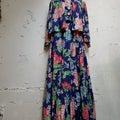【レディース】1930年代 花柄 ブラウス ジャケット スカート 3点セット