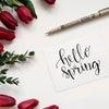 楽しみなレッスンへ…今気になるお花は…?の画像