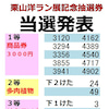 2019栗山洋ラン展記念抽選券 当選発表!!(平成31年)の画像