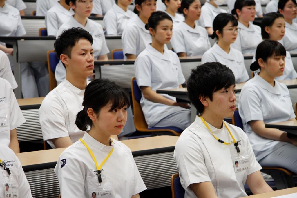 新学期が始まりました! | 看護リハビリ新潟保健医療専門学校 ...