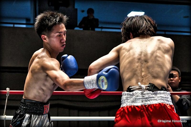 石森 憲士朗(RK蒲田)vs小林 英明(Reason郡山) | 武士道ボクシングⅤ