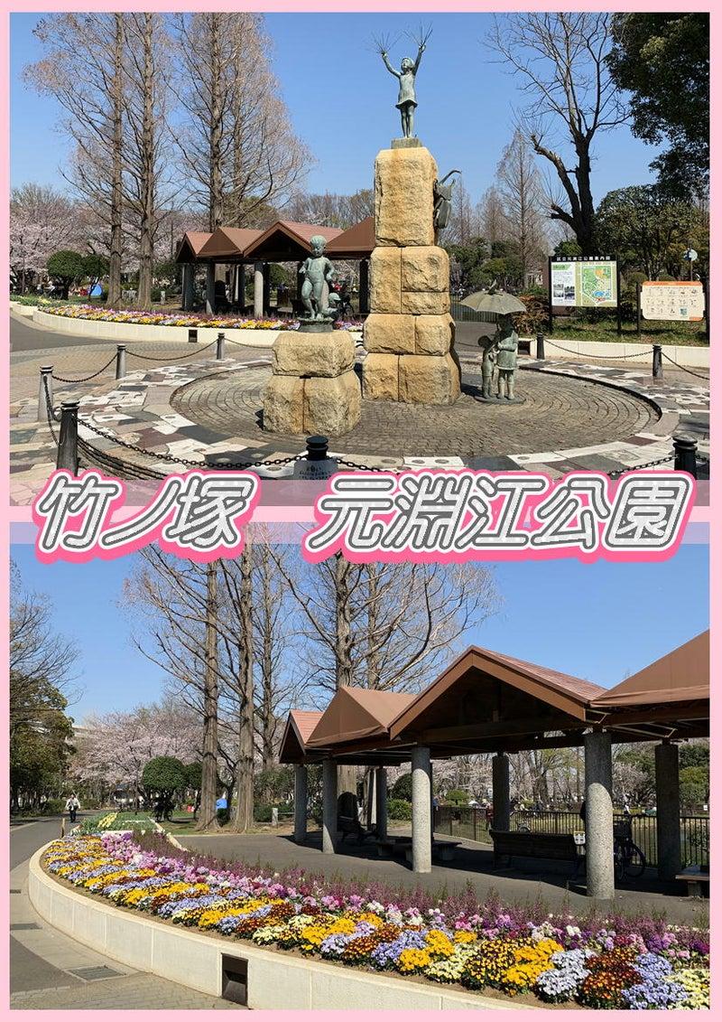 とんでんの塩辛☆桜を観に竹ノ塚の元淵江公園に行って来ました!タイ古式&足つぼ&オイルマッサージ1