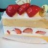 ただいまシフォンドールカフェでは苺フェアーを開催中です♪の画像