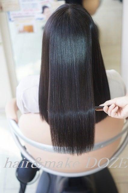蘇った美髪は定期的メンテでしっかりキープ!