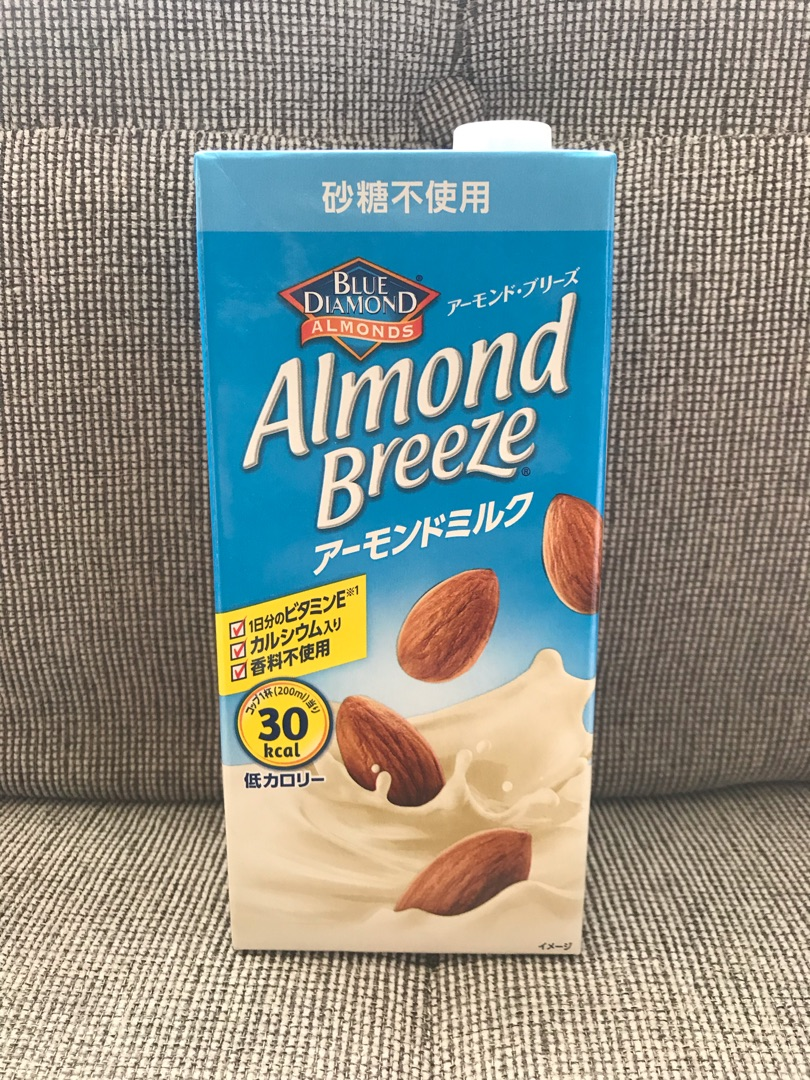 スタバ アーモンドミルク 糖質