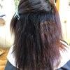 毛質改善プラチナ縮毛矯正のお客様のビフォーアフター♪の画像